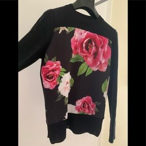 Ted Baker sweater size 1 almost new super cute